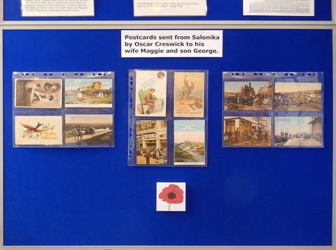 Oliver Creswick display
