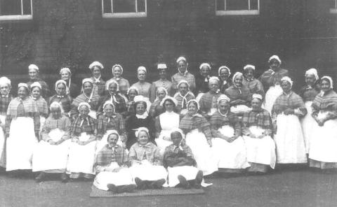 Fir Vale inmates, 1910