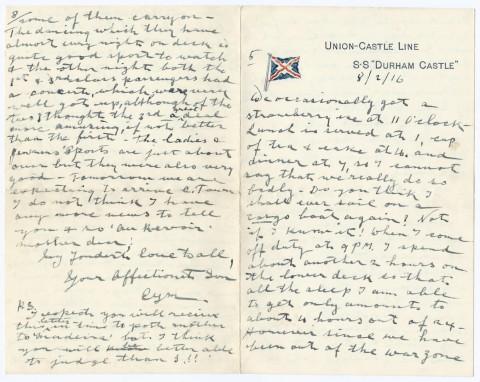 Cymbert Ellison Letter C page 1