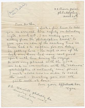 Cymbert Ellison Letter E