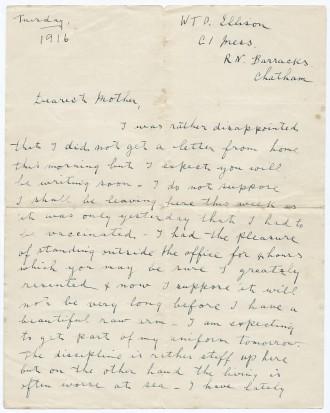 Cymbert Ellison Letter I