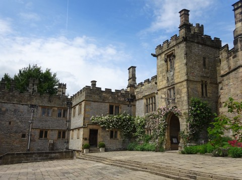 The Courtyard, Haddon Hall