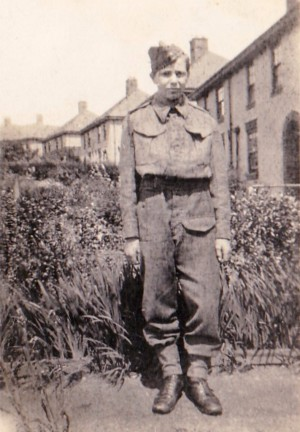 Eric Renshaw, Army Cadet aged 14 in 1944