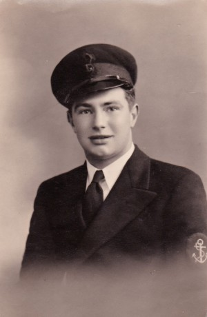 Len Renshaw, Eric's brother, Fleet Air Arm, circa 1942