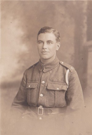 Fred Renshaw, Eric's Father,who served in the 1914-18 War in France