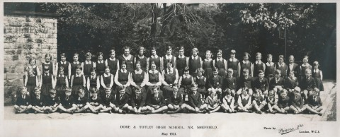 Dore and Totley High School, May 1933