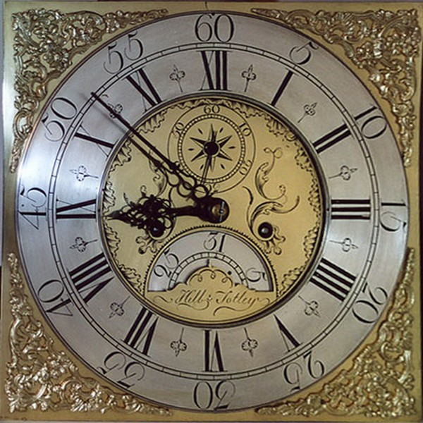 Long-case clock by Samuel Hill of Totley, circa 1770