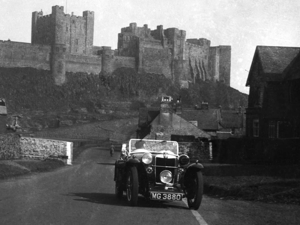 The rebuilt MG 3880 in Bamburgh in 1940