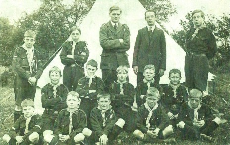 21st Sheffield (Cherrytree) Scouts, 1st August 1915.