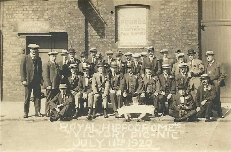 "Royal Hippodrome's ""Victory Pic-nic"" July 11th 1920 (photo 5)"
