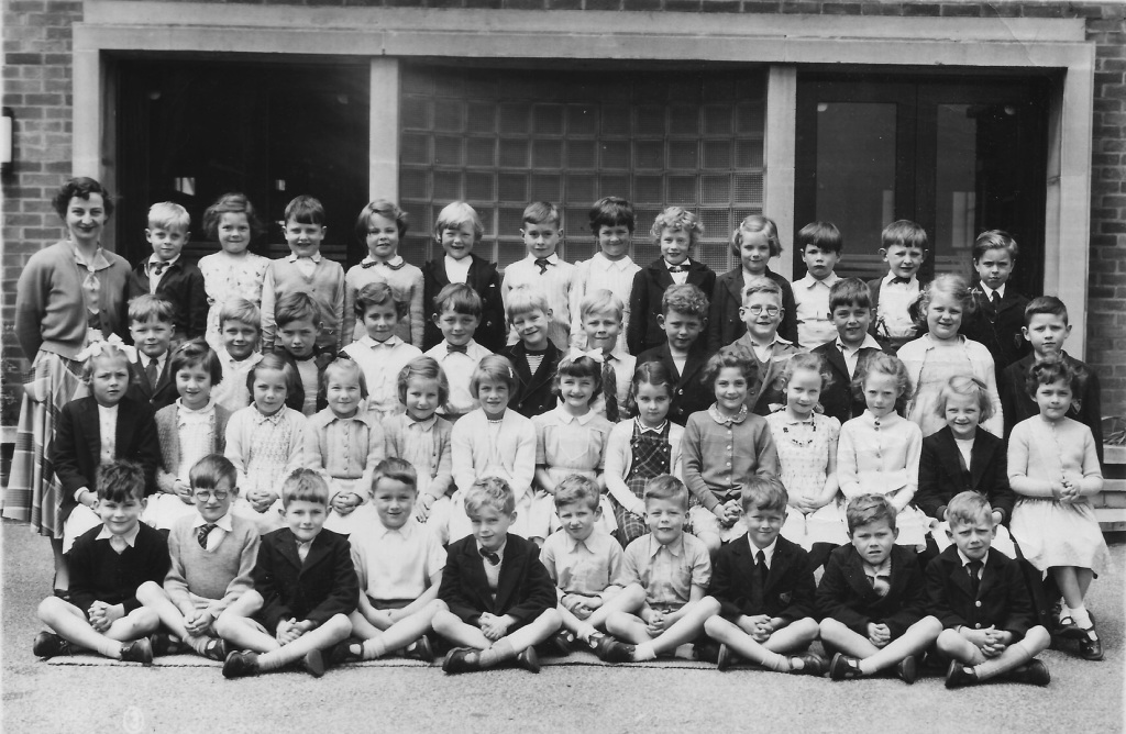 Totley County School, June 1956