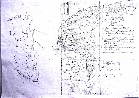 Plan 2. Fairbanks 1813 sketch map