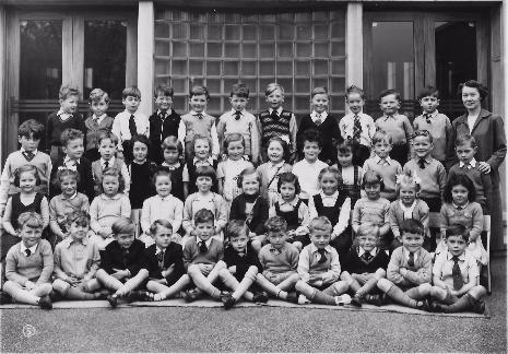 Totley County School Reception Class, June 1953