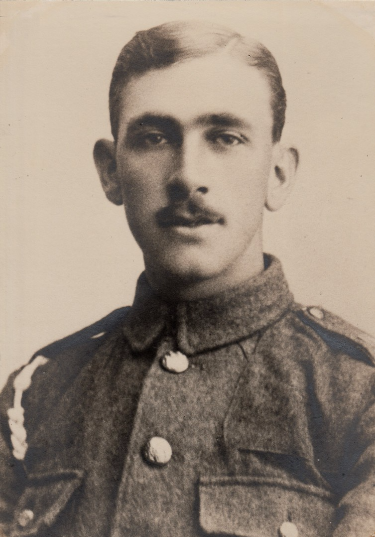 Maurice Johnson during WW1