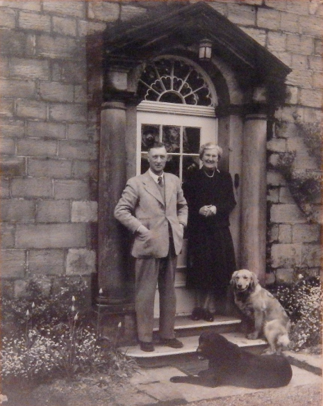 Robert and Kathleen Grayson at Brook Hall, 1953