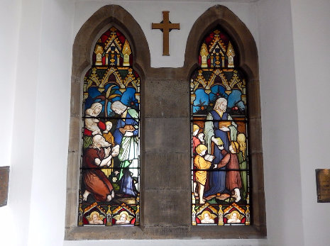 Window dedicated to Mrs Sarah Roberts, Church of St. John the Evangelist, Abbeydale