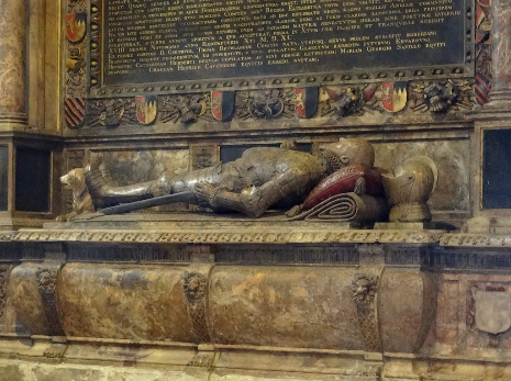 Monument to George Talbot, 6th Earl of Shrewsbury