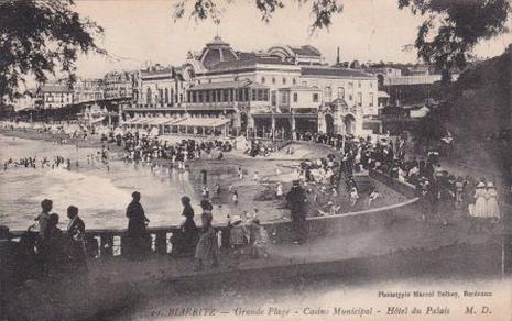 Casino Municipal, Hotel Du Palais, Biarritz