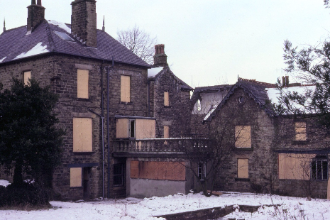 Brook House boarded up in 1978