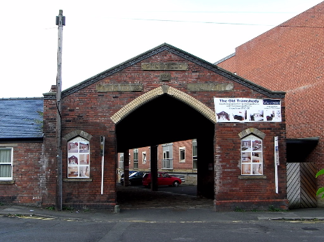 Sheffield Tramways Company Tramshed, Heeley, dated 1878