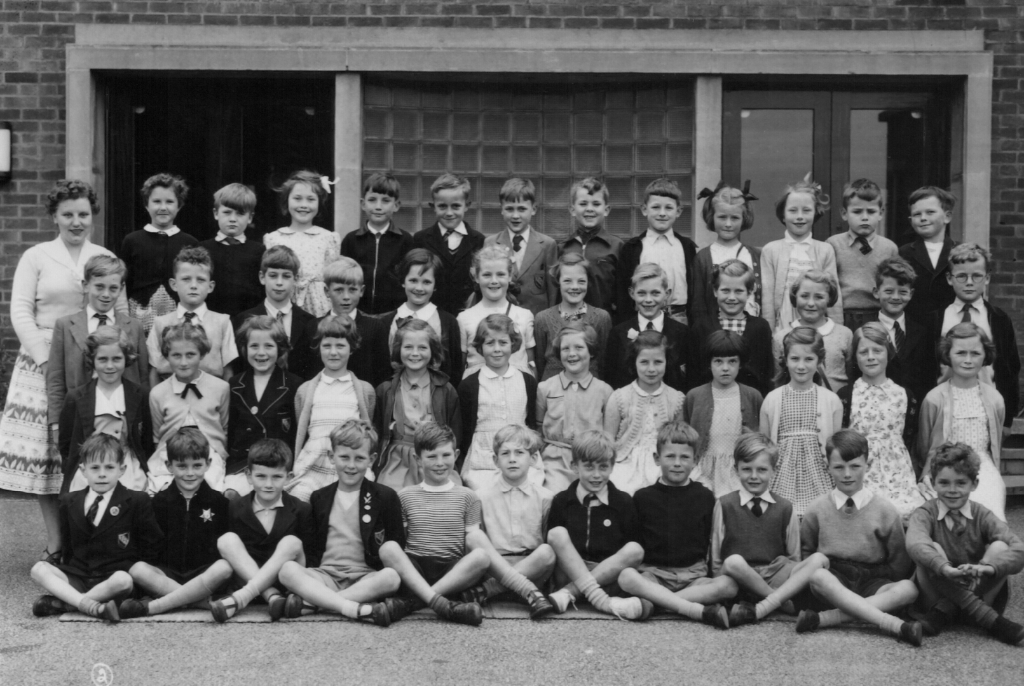 Totley County School circa 1956