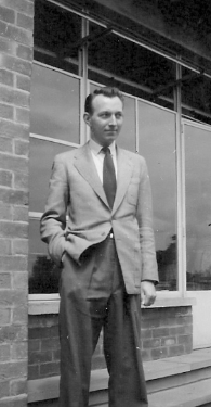 Mr. Courage, Teacher, Totley County School, circa 1958