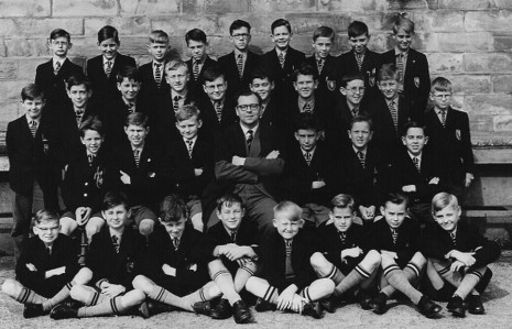 Form 1(2) at King Edward VII School, 1958
