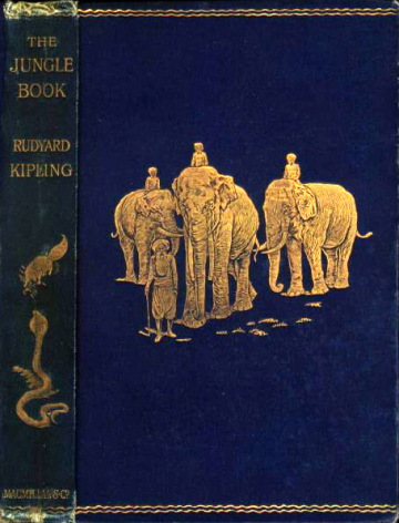 The Jungle Book by Rudyard Kipling, Macmillan (1894)