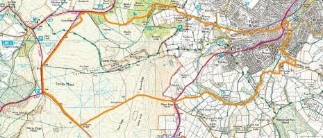 Totley boundary map pre 1934