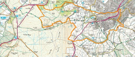 Totley boundary map post 1934