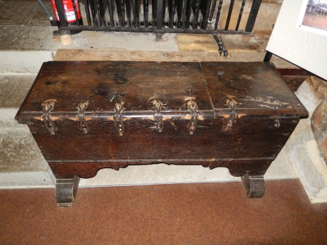 Church safe, dating from 1638