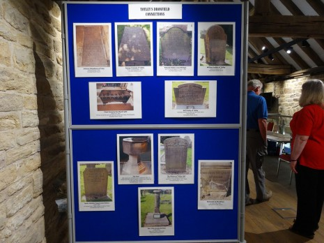 Totley's Dronfield Connections display