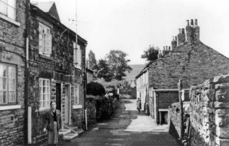 Summer Lane in 1957