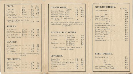 Kate Marrison Price List 1 Jul 1916 page 2