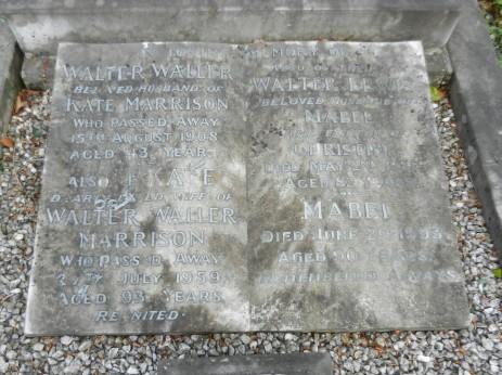 Marrison Family gravestone, Dore Christ Church