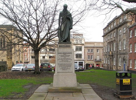 James Montgomery Statue, East Parade