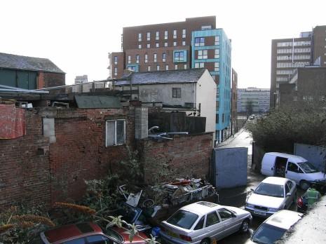 Rear Yard of 114 Broad Lane, Sheffield