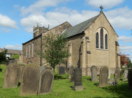 St. Swithin's Parish Church, Holmesfield