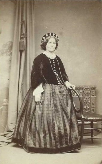 Insert an image caption here. Jane Manby Tyzack (1822-1889) at Wood Lodge in 1863