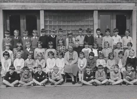 Totley County School circa 1964. Teacher: Miss Rappitt