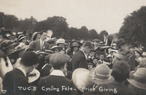 Dore and Totley Union Church Cycling Society Fete 18 July 1914