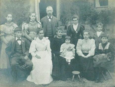 The Plumbe Family, circa 1897.