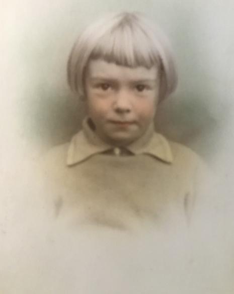 Pat Sampy aged 5.