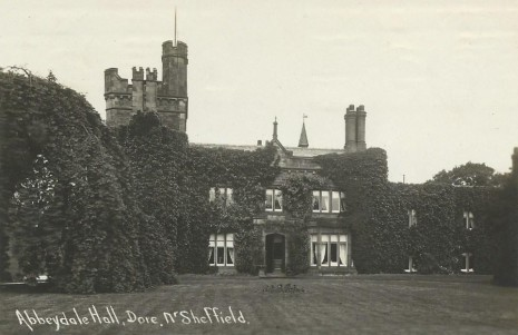 Abbeydale Hall in 1922