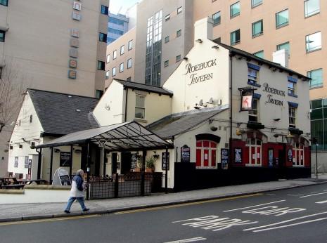 The modern Roebuck Tavern, Charles Street