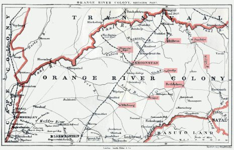 Orange River Colony in the Boer War