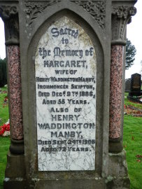 Henry Waddington Manby memorial