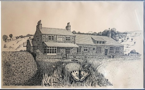 The Cricket Inn at Totley by Brian Edwards, 1978