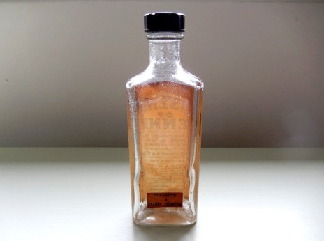 Essence of Rennet bottle, back