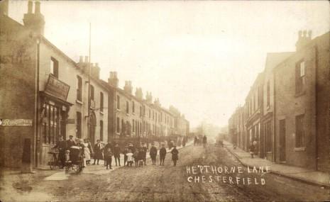 Hepthorne Lane circa 1914.